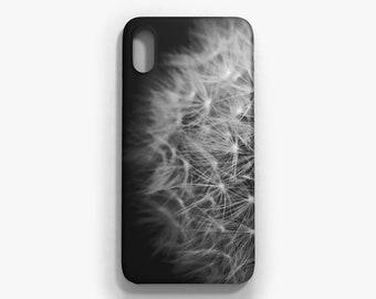 Flowers dandelion iPhone case, iPhone X, iPhone 8/8 Plus, iPhone 7/7 Plus, iPhone 6 6S, iPhone 6 Plus 6S Plus, Samsung Galaxy S8/S8 Plus