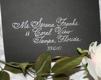DISOUNT Calligraphy Citadel Script Wedding Envelope Addressing