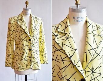 CARLA FIELD statement blazer jacket