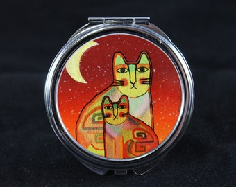 Groovy Cat Compact Mirror #5