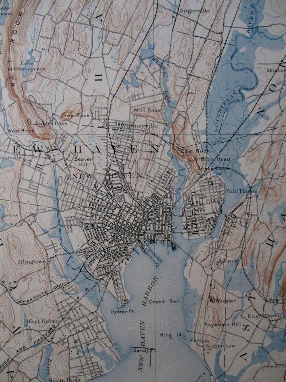 1907 New Haven Branford Hamden Orange East Haven Long