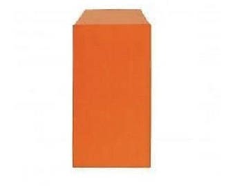 lot 25 pouches bags bags envelopes kraft 7 x 12 orange