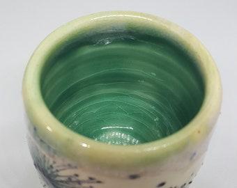 Adorable Ceramic Tumbler, Stoneware