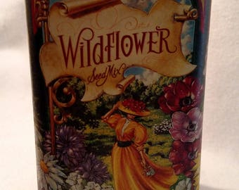 1996 Wildflower Seed Tin