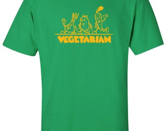 Vegetarian Veggies on Parade T-Shirt
