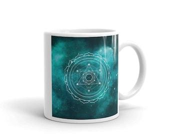 Mug - Sacred Geometry Teal 1 Mug