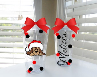 Christmas Puppy tubler- available in 3 sizes