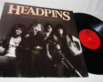 Headpins-Line of Fire-Polydor Records 8211501-vinyl record