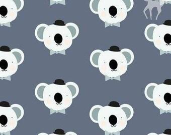 Koalas - Cotton Elastane - European Knits - 1 Yard