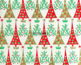 FIVE Different Vintage Wrapping Paper Digital Images For One Price You SAVE 10 Dollars  Download Printable