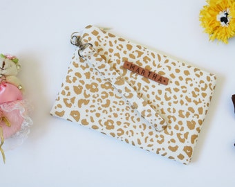 Bridesmaid Gift in Gold, Personalized Bridesmaid Wristlet in Gold
