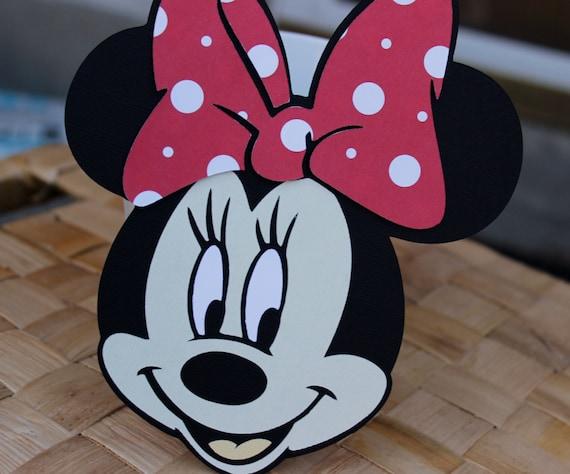 Handmade Minnie Mouse Invitations For Birthdays Baby