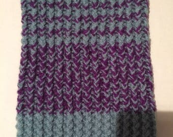 Hand knitted snood for a one year old