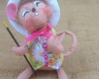 Annalee Collectible Spring Mouse