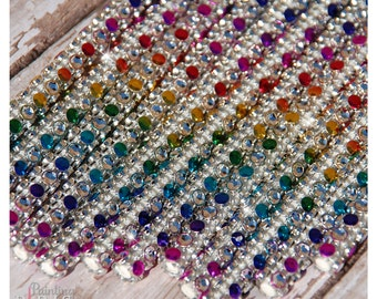 Rainbow Jewel Shimmer Sticks - NEW Trend Alert - Glam Sparkle for Lollipops, Cake Pops and All Things Party | Bling Sticks