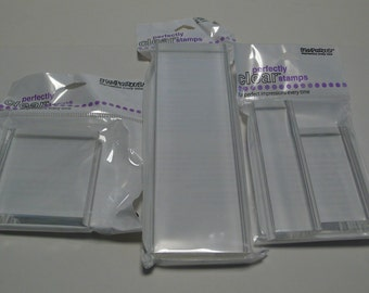 Acrylic Stamp Blocks