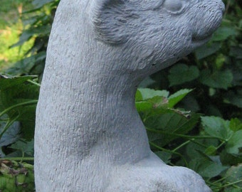Ferret Standing Statue ( Shipping is for west of the Mississippi river)