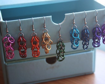 Overflow Chainmaille Earrings
