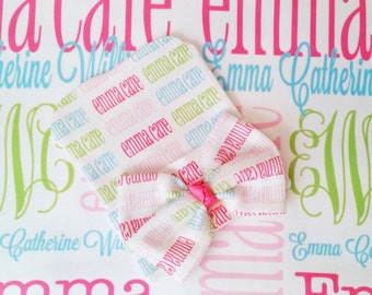 Personalized baby name blankets monogrammed by monogrammarketplace personalized baby blanket newborn hat set baby name blanket newborn hospital hat baby bow hat monogrammed negle Choice Image