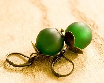 """Earrings """"Forest Master"""" Polaris"""