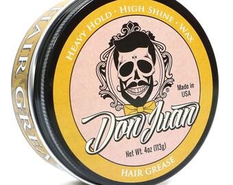 Don Juan Hair Grease Pomade Heavy Hold 4oz