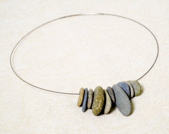 River Rock cable necklace