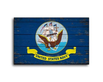 U.S. Navy wood Flag Sign Flags wooden Armed Forces Military handmade Home Wall Decor print printed sign decor sign wall store signs