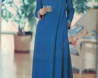 See and Sew 3410 Vintage Pattern Womens Long Robe or kaftan (Caftan) Size 8,10,12 UNCUT