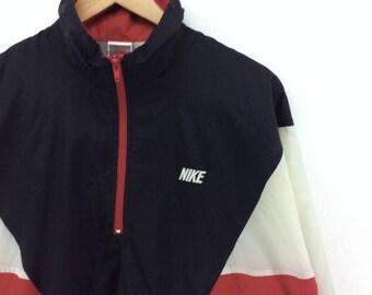 Nike jacke schwarz rot