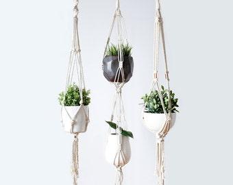 Hanging Planter, Macrame Plant Holder