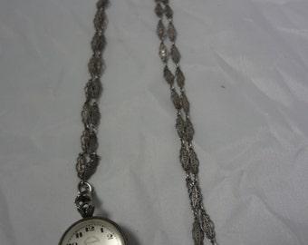 1930'S E. Leicht-Mayer Ball Watch Pendant for Lucerne