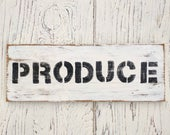 Produce Sign | farmhouse ...