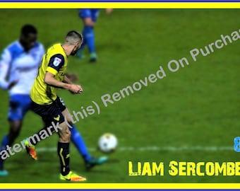 Oxford United Liam Sercombe Poster
