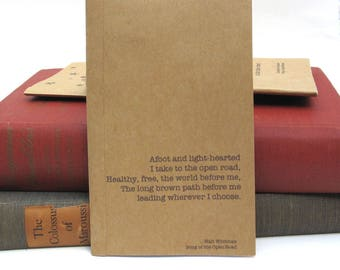 The Open Road Kraft Paper Notebook / Journal / Sketchpad