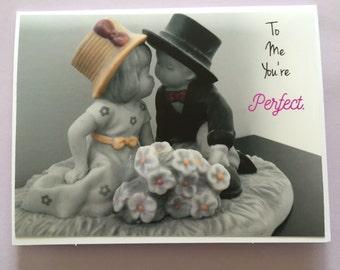 Love, anniversary, wedding, husband, wife,  greeting card, photo greeting card,perfect, anniversary card, wedding card, love card, vintage