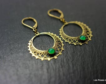 Earrings art deco Elisa