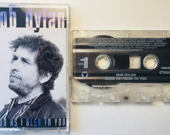 Bob Dylan : Good As I Been To You (Cassette Tape)