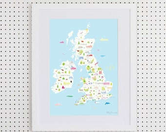British Wonders Print