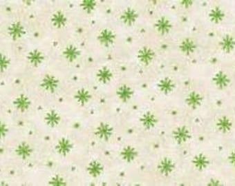 180591 Green Snowflakes