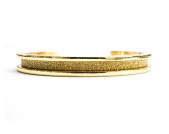 TODAY SHOW FEATURED Hair Tie Bracelet, Hair Tie Bracelet Holder - Glitz Design Gold