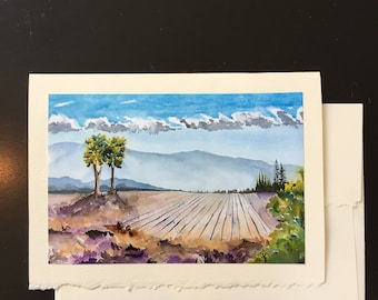 Sonoma Wine Country Greeting Card