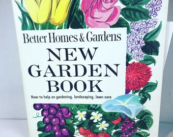 Vintage Better Homes and Gardens New Garden Flower Book