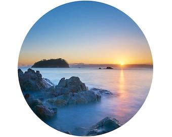 Adhesive Wall Decal  | Moturiki Island Sunrise