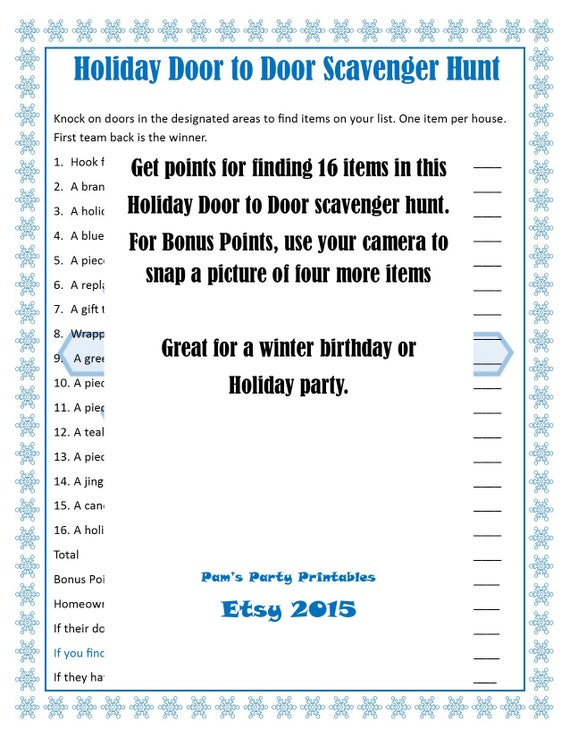 christmas printable games bundle lot of 5 family feud, Powerpoint templates