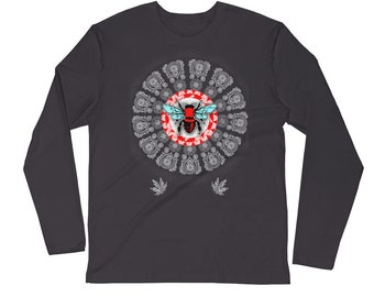 RBSC Tribal Smoke Long Sleeve Fitted Crew