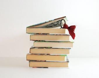 1 Secret Book Safe - Adventure Storybook - Hidden Compartment Hollow Book Box Secret Stash Box - Alice in Wonderland - Heidi - Wizard of Oz