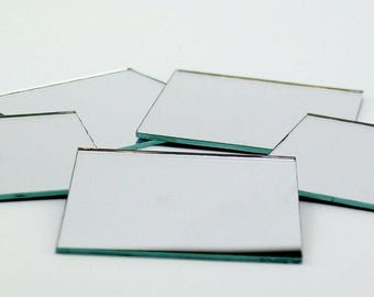 "1/4"" Mirror Tiles (Set of 10)"
