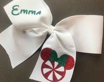 Mickey Christmas Cheer Bow