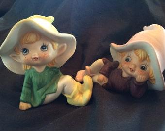 Homco Pixie Elves # 5213
