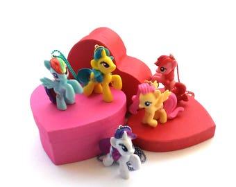 My Little Pony Necklace   MLP Necklace   MLP   Lemon Hearts   Pepperdance   Firecracker Burst   Friendship is Magic